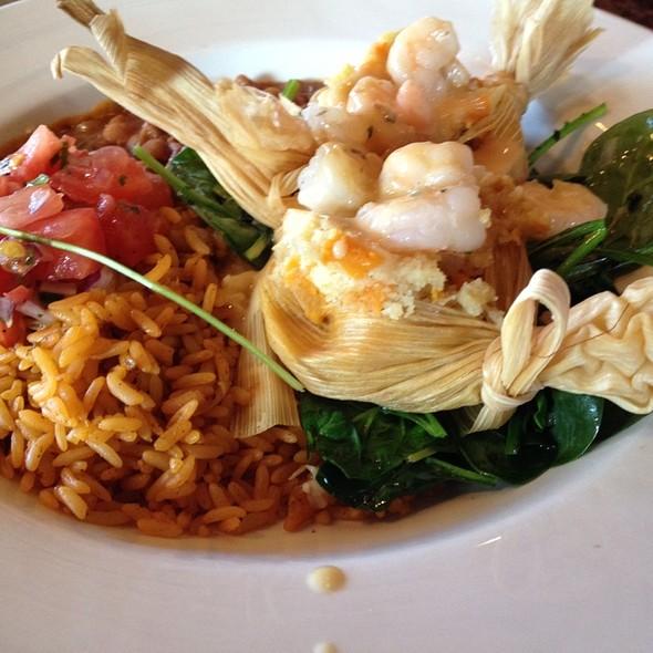 Sweet Potato & Shrimp Tamales - Zolo Grill, Boulder, CO