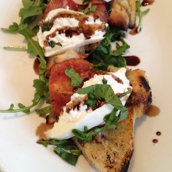 Bruschetta with Burrata - Tuscarora Mill, Leesburg, VA