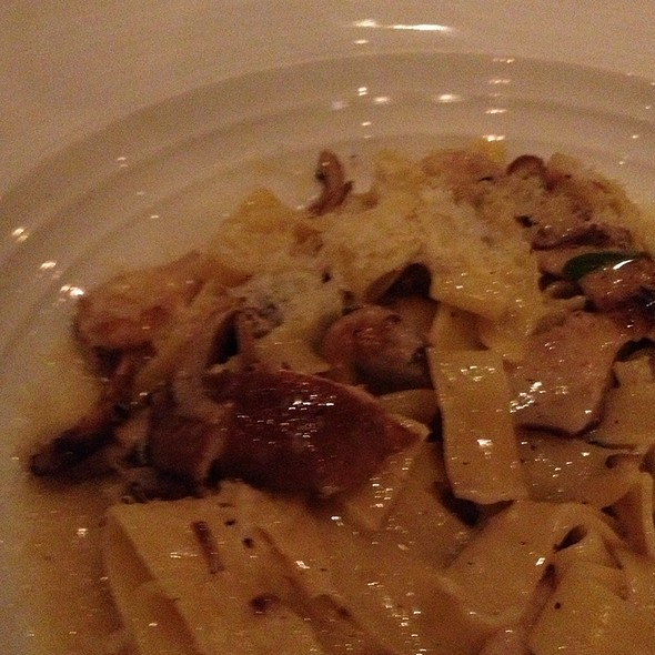 Exotic Mushroom Pasta In Truffle Oil - Sorellina, Boston, MA
