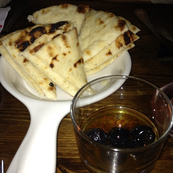 Pita Bread With Olive Oil - Pierre Loti Chelsea, New York, NY