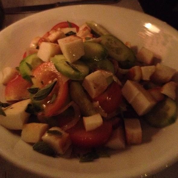 Haloumi Cheese Salad - Taboon, New York, NY