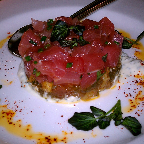 Tuna Crudo - Artisan, Southport, CT