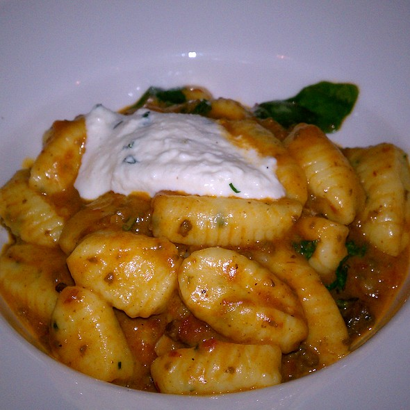 Goat Cheese Gnocchi - Artisan, Southport, CT