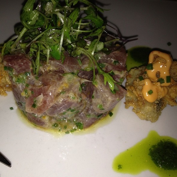 Tuna Tartare - Prezza, Boston, MA