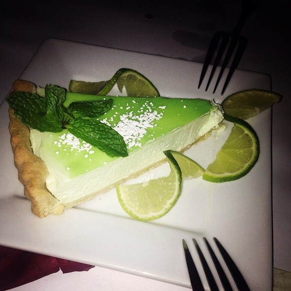 Key Lime Pie - Sur Restaurant, West Hollywood, CA