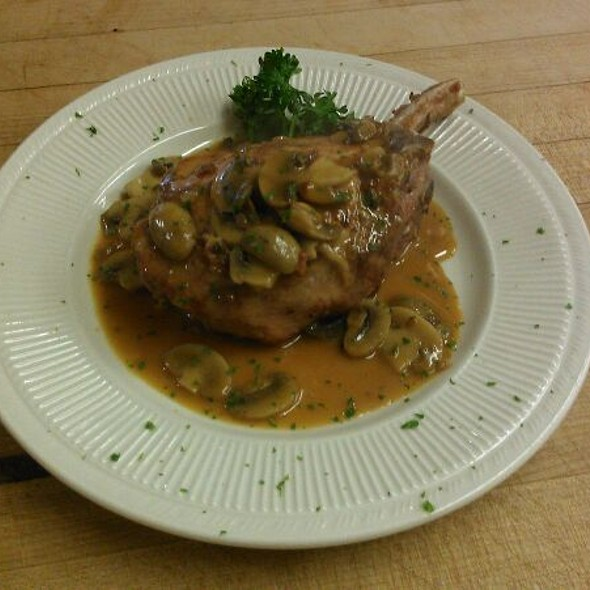 Stuffed Pork Chop, Mushroom Marsala, Stuffed With Sausage Sage Stuffing - A Touch of Italy, Egg Harbor Township, NJ