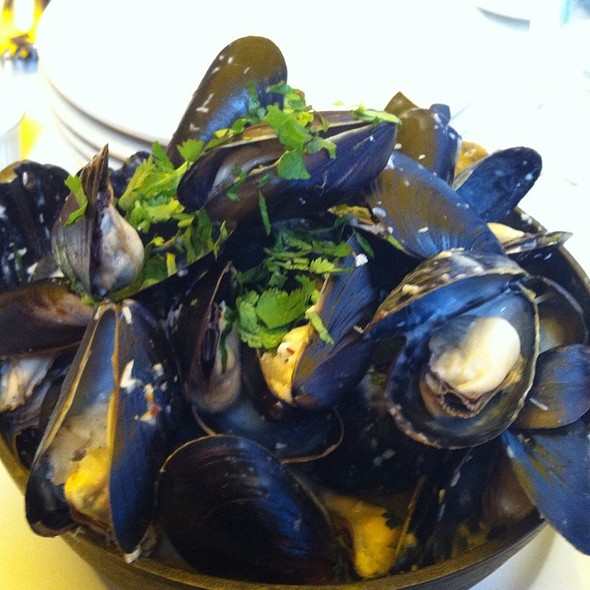 Mussels In Chile Coconut Milk - Plouf, San Francisco, CA