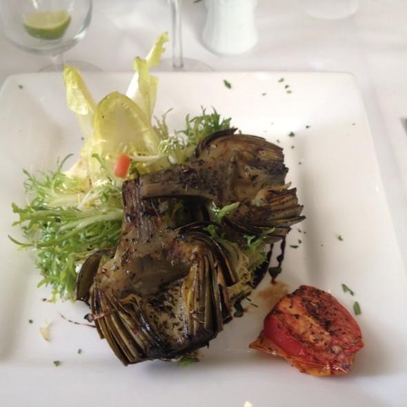 Grilled Artichokes - Stella Mare's, Santa Barbara, CA
