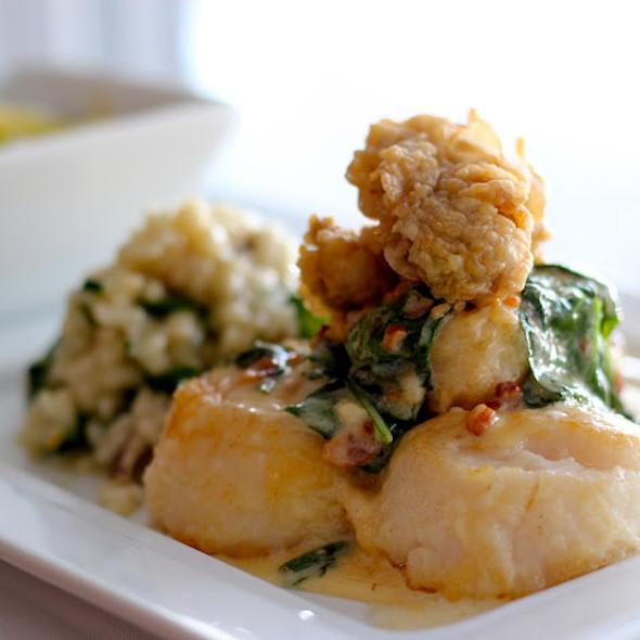 Scallops Rockefeller - Duval's Fresh. Local. Seafood., Sarasota, FL