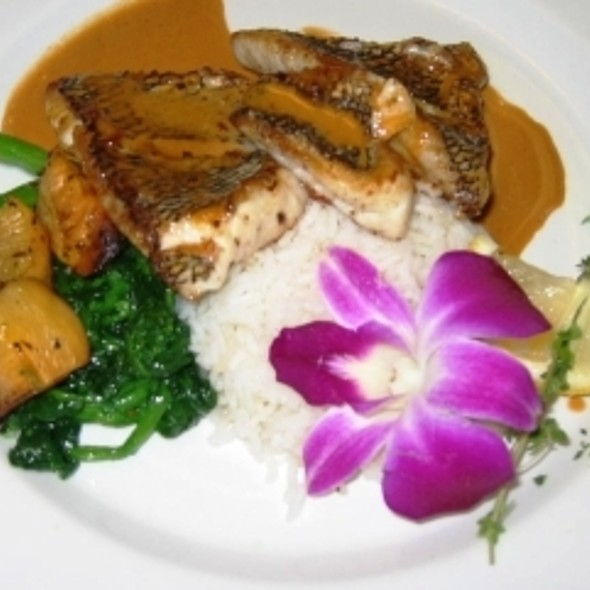 Red Snapper - Trax Restaurant & Cafe, Ambler, PA