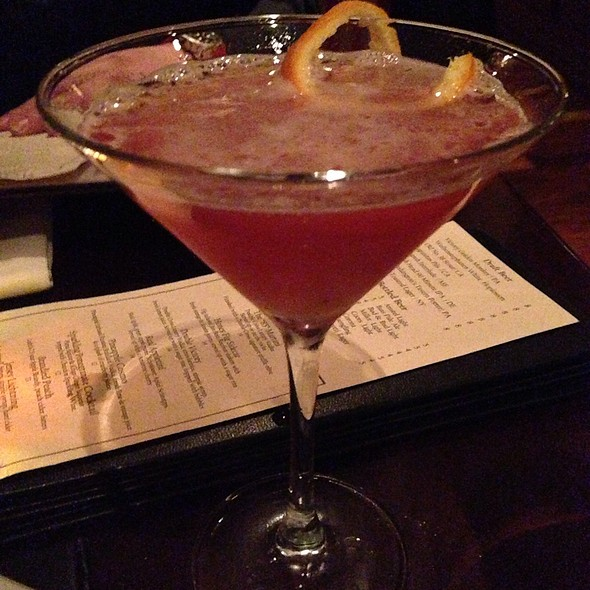 Pineapple Cosmo - Steakhouse 85, New Brunswick, NJ