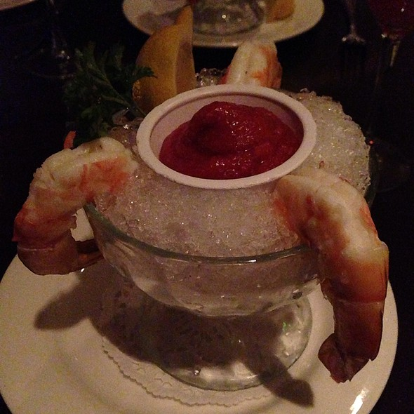 Colossal Shrimp Cocktail - Steakhouse 85, New Brunswick, NJ