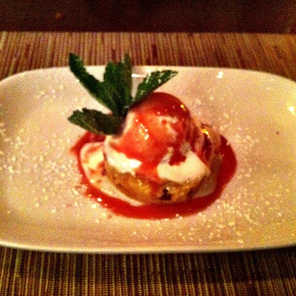 Winter Bread Pudding - Pera Mediterranean Brasserie, New York, NY
