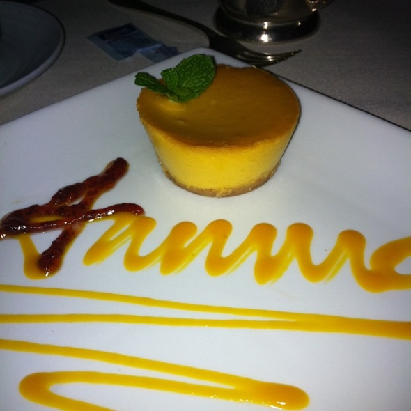Mango Cheesecake - Amma, New York, NY