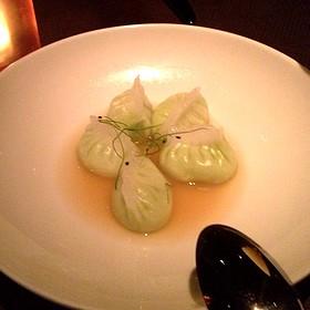 Edamame Dumplings - Buddakan NY, New York, NY