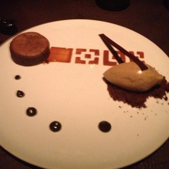 Molton Chocolate Cake - Buddakan NY, New York, NY