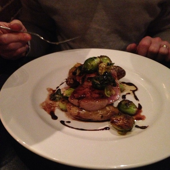 Seared Duck Breast With Brussels Sprouts - Bourbons Bistro, Louisville, KY