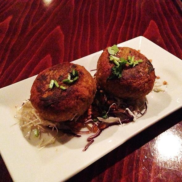 Sweet Potato Patties - Mi Lah Vegetarian BYOB, Ambler, PA