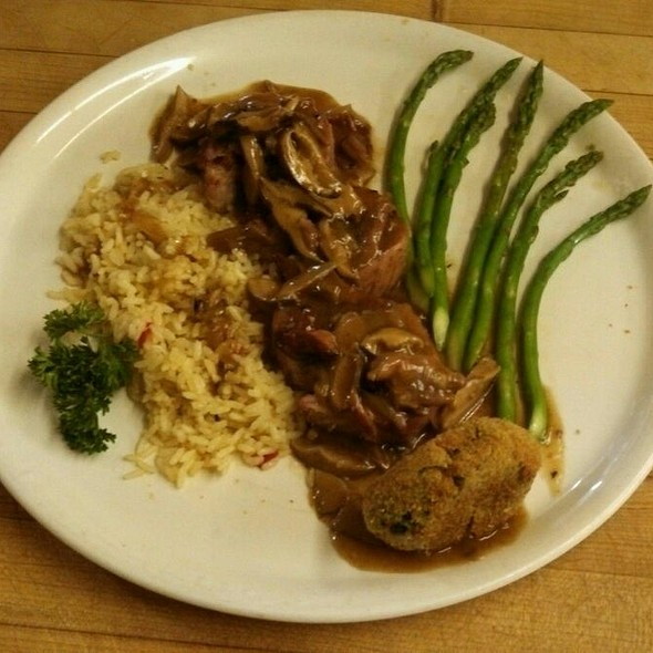 Stuffed Pork Loin Mushroom Marsala  - A Touch of Italy, Egg Harbor Township, NJ