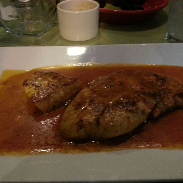Snapper With Coconut Sauce - Merengue Restaurant, Boston, MA