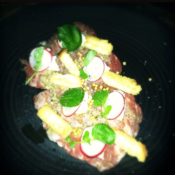 Wagyu Beef Carpaccio - The Cannery, Newport Beach, CA