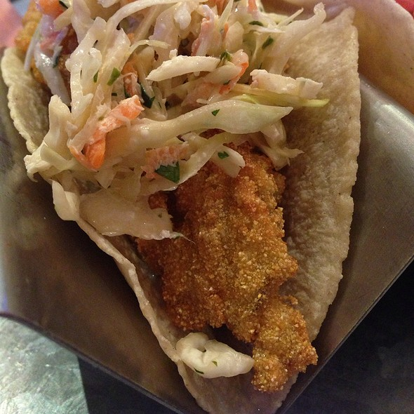 Fried Oyster Taco  - Stampede 66, Dallas, TX