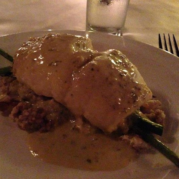 Crab And Asparagus Stuffed Flounder - The York, Syracuse, NY