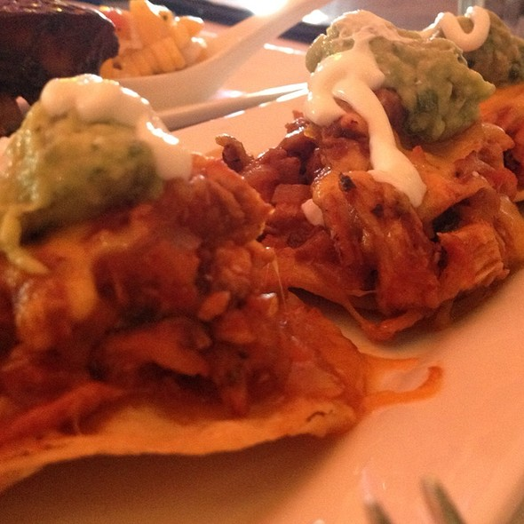Chicken Tostada - Broadway Grill, Burlingame, CA