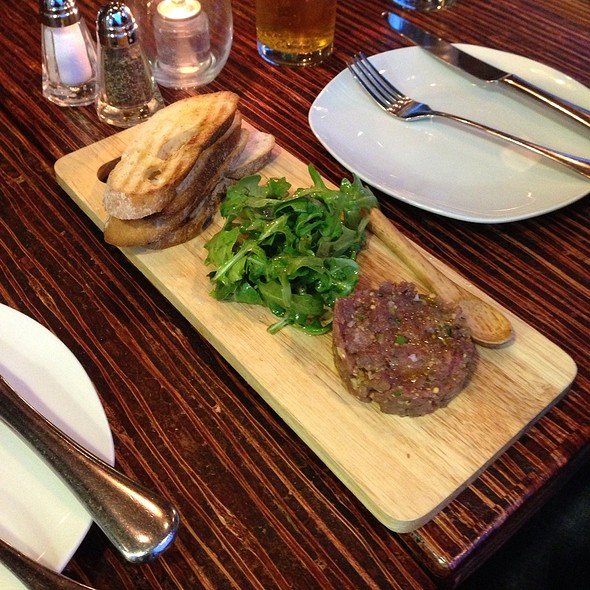 Bison Tartare - Merchant's Oyster Bar, Vancouver, BC