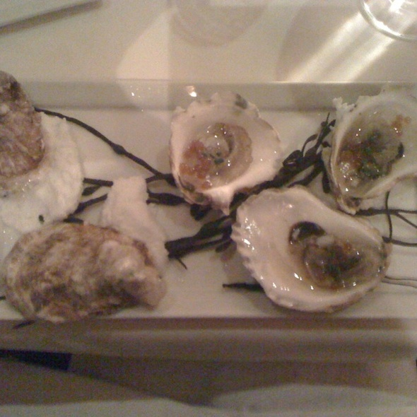 Oysters - The Schoolhouse at Cannondale, Wilton, CT