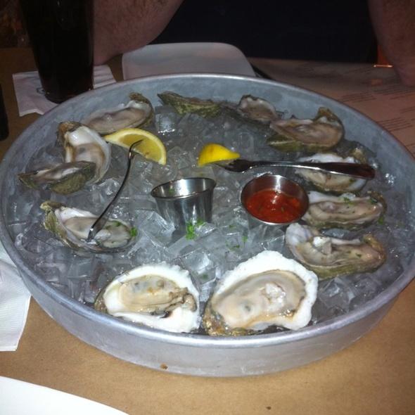 raw oysters - Goin' Coastal - Canton, Canton, GA