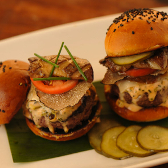 Wagyu Beef Sliders with Foie Gras - STK – Miami Beach, Miami, FL