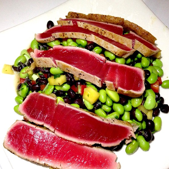 Seared Ahi On Edamame And Black Bean Salad - The Derby, Arcadia, CA
