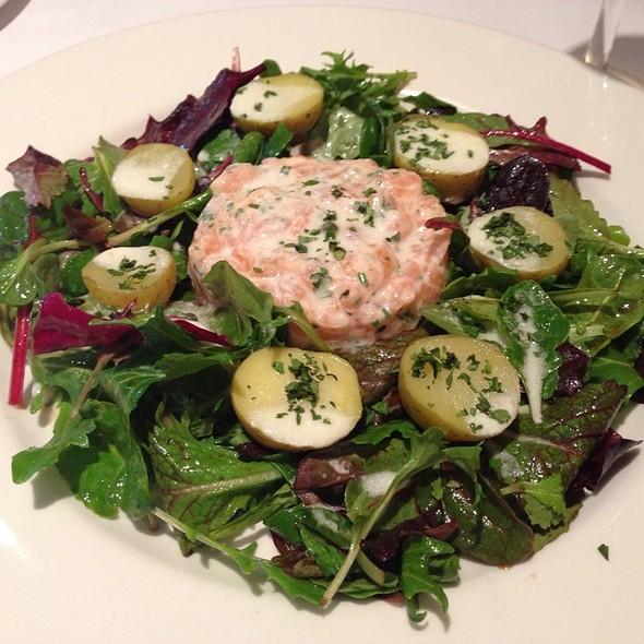 Salmon Tartar Salad - Au Midi Restaurant & Bistrot, Aptos, CA