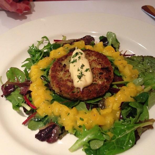 Crab Cake Salad - Au Midi Restaurant & Bistrot, Aptos, CA