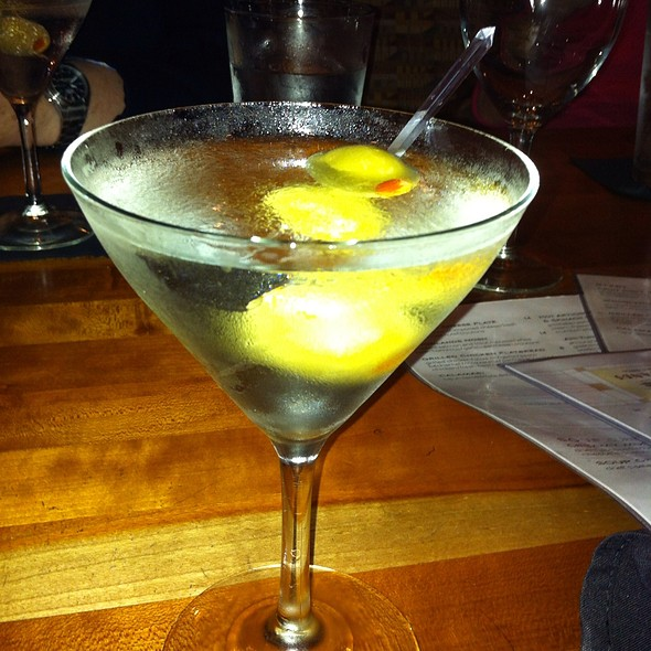 Grey Goose Vodka Martini - Woodlands American Grill, Dallas, TX