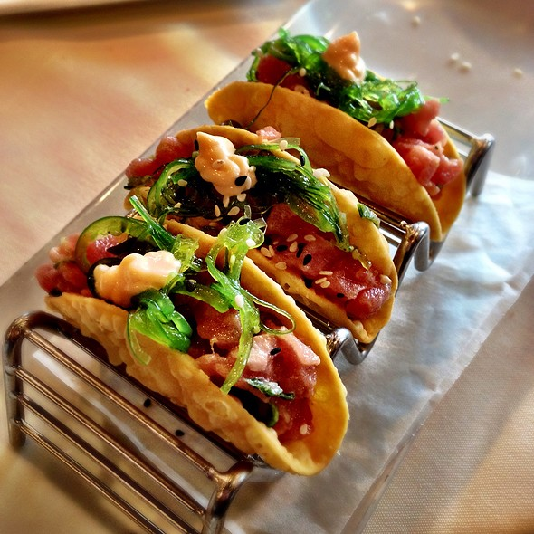 Tuna Tartare Tacos - Liberty House Restaurant, Jersey City, NJ
