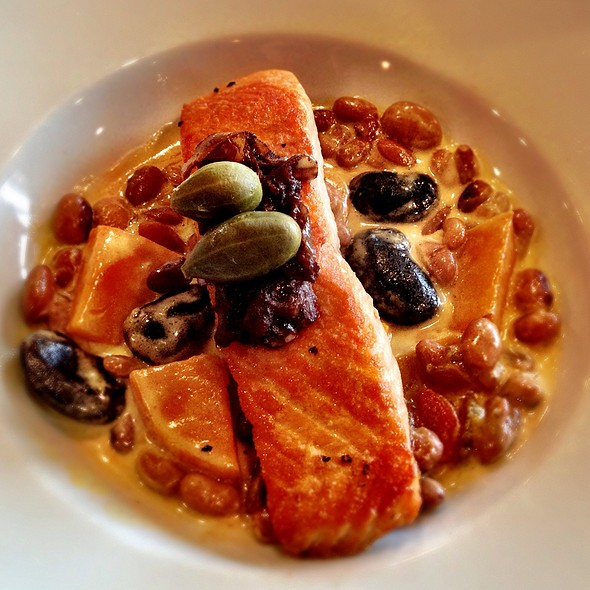 Scottish Salmon - Liberty House Restaurant, Jersey City, NJ