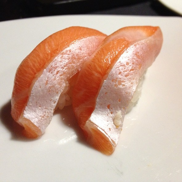 Salmon Belly Nigiri - Sono Japanese Restaurant, Raleigh, NC