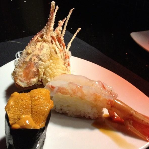 Uni & Amiebi Nigiri - Sono Japanese Restaurant, Raleigh, NC