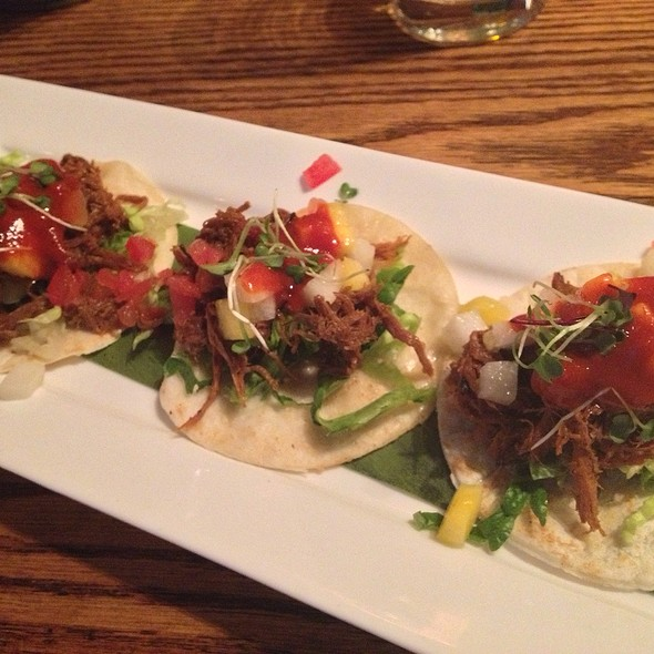 Smoked Pork Tacos - Mesa Modern Mexican, Easton, PA