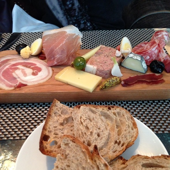 cheese & charcuterie plate - Café Boulud, Toronto, ON
