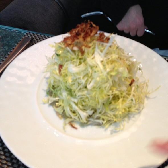 Salade Tropezienne Artichoke, Fennel and Celery Salad - Café Boulud, Toronto, ON