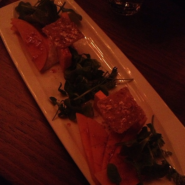 Fuyu Persimmon Salad - Chambers Eat + Drink, San Francisco, CA