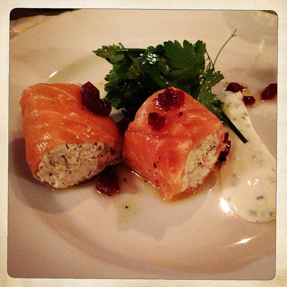 Salmon Starter - Pierre Victoire, London