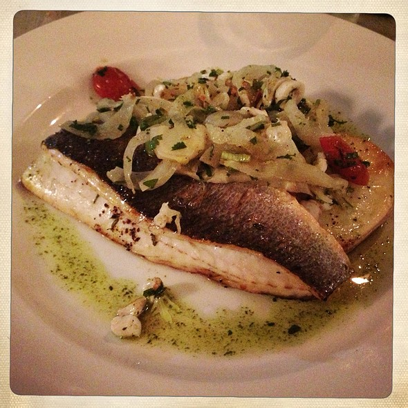 Sea bass - Pierre Victoire, London