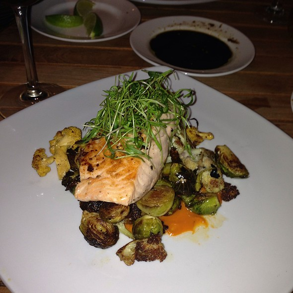 Seared Salmon - Aquarius - Dream Inn, Santa Cruz, CA