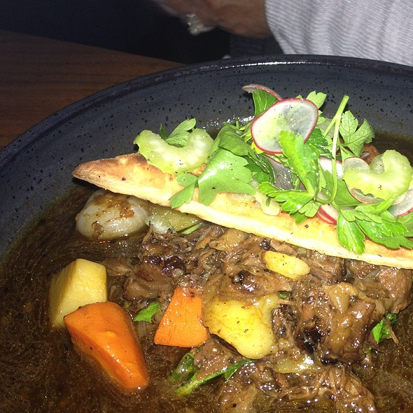 braised oxtail - Plum Bar + Restaurant, Oakland, CA