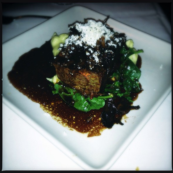 Red Wine Braised Short Rib - Five Crowns, Corona Del Mar, CA