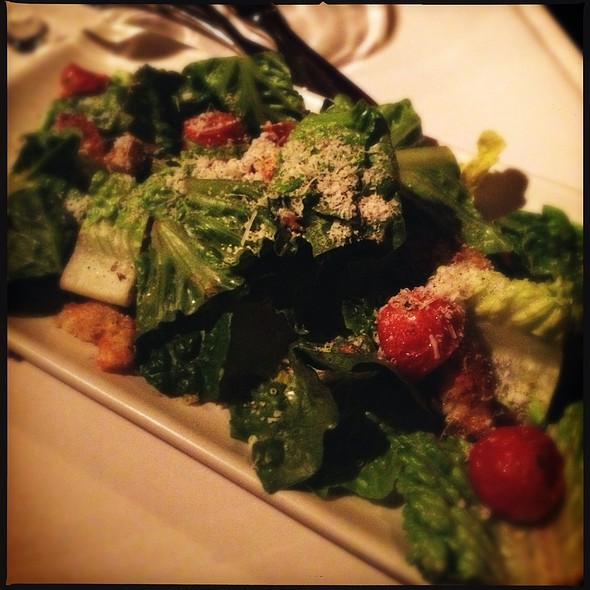 Winter Ceasar Salad - Five Crowns, Corona Del Mar, CA